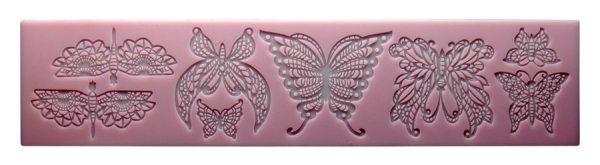 """""""Tortenkleid Dekoration"""" Silikonmatte - Schmetterling"""